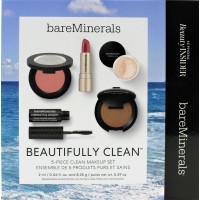 bareMinerals Kit: lipstick mascara bronzer blush Mineral Veil Setting