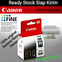 Cartridge Canon PG 810 Black Printer iP2770 MP258 MP276 MP296 MP496