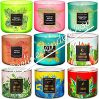 Bath and Body Works 3 Wick Candle/ Large Candle sale (6)