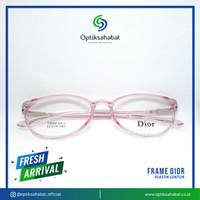 Frame Kacamata Dior Plastik Oval