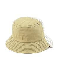Urban State - Colorblock Bucket Hat - Cream Yellow