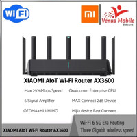 Xiaomi Alot AX3600 Router wifi 6 Wireless 2976mbps Suport 248Device