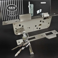 mortise lock/body swing SES + cylinder