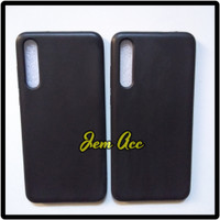 Case Huawei P20 Pro Softcase Black Matte Silikon Hitam Soft Case