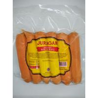 Juragan Sosis Sapi Bakar Original 6pc 500gram Frozen Food