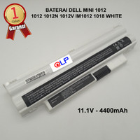 Baterai Dell Inspiron 1012 1018 Mini 1012 1012N 1012V White