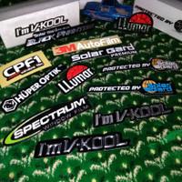 Stiker Kaca Film Mobil Solar Gard Biru Bukan Sticker Im Vkool Llumar