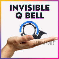 Bel Sepeda Invisible Q Bell Bicycle Klakson Ring Cincin Nyaring - Gold