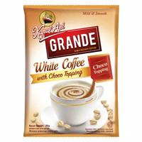 KAPAL API Grande White Coffee with Choco Topping - 1 Sachet (20 gr)