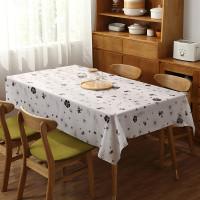 Table Cloth - Taplak Meja Makan panjang Waterproof Anti Air bahan peva