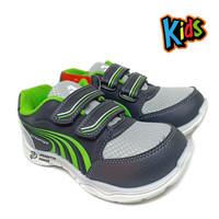 Sepatu Anak Laki Green ALT - Sepatu Anak Sekolah