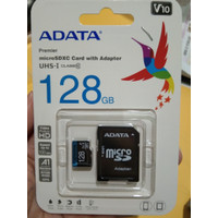 ADATA MicroSDXC Card with adapter 128GB