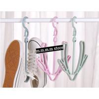 Gantungan Sepatu Sandal/Jemuran sepatu sandal-MM36 - Biru Muda