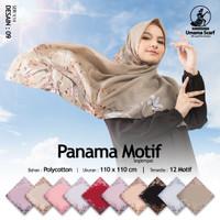 TERLARIS! Kerudung Umama Panama Motif Segi Empat Hijab Jilbab