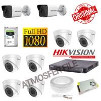 PAKET CCTV HIKVISION 8CH 1080P 2MP LENGKAP TERMURAH
