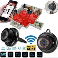 IP KAMERA CCTV Wireless Ip Mini Camera Wifi Smart Net Aplikasi V380