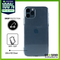 Case iPhone 11 Pro / Max / 11 OCTAGUARD Silicone Clear TPU Soft Casing