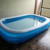kolam bestway besar seri jumbo 54006 kotak renang main air keluarga