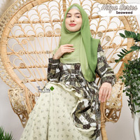 GAMIS MOTIF BUNGA SUPER CANTIK HILYA SERIES THE DAY AHZARAYY