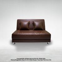 Sofabed / Sofa bed Mini Moyes Dark Brown
