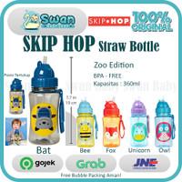 Skip Hop Straw Bottle / Botol Minum Anak