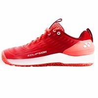 Sepatu Tenis Tennis Yonex Eclipsion 3 Red White Power Cushion Original