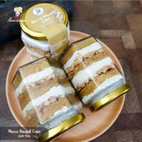 Mocca Nougat Cake Jar