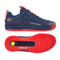 Sepatu Tenis Tennis Yonex Eclipsion 3 Navy Red Power Cushion Original