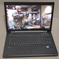 Laptop gaming core i7 vga 1gb layar 17inch ram 8gb hardis 1TB
