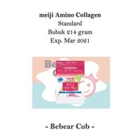 Meiji Amino Collagen Refill Pink / Standard, Kolagen Jepang, 214gr