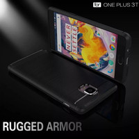 CASE ONEPLUS 3 3T RUGGED CASE CARBON ANTI SHOCKPROOF