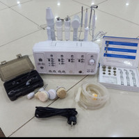 7 ni 1 alat facial ultrasound galvanic vacum microdermabrasi