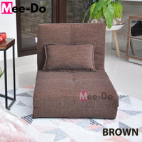 Mee-Do Sofa Bed Lipat Kursi Lipat Kursi Lesehan Kursi Santai Tatami - BROWN