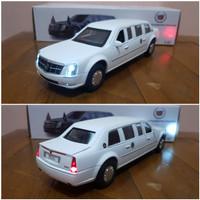 Diecast Mobil Cadillac Limousine