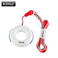 SOS Panic button Emergency KERUI alarm System doorbell door bel pintu