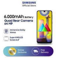 Samsung Galaxy M31 6/128(Ram 6GB Rom 128GB)Resmi SEIN