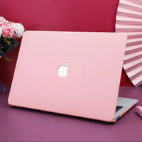 Macbook Mac book NEW Air Pro 13 12 inch 2020 Baby PINK Cover hard Case
