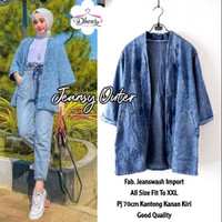 jeansy outer jaket jeans