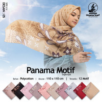 TERLARIS! Kerudung Umama Panama Motif Segi Empat Jilbab Hijab