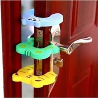 Ganjalan Pintu Karakter Door Stopper Pengaman Furniture Spon Busa