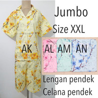 Piyama baju tidur dewasa wanita super jumbo bigsize murah