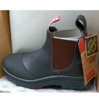SAFETY SHOES fit your feet, branded, kulit asli, nyaman