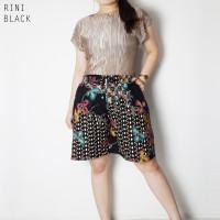 Rini Pants - Celana Batik Pendek Wanita Kulot Wanita