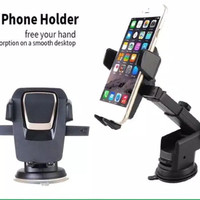 CAR HOLDER MOBIL HD-09 360 DEGREE ROTATION UNIVERSAL HOLDER PHONE HD09