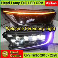 HEADLAMP - HEAD LAMP HONDA CRV TURBO 2016-2020 FULL LED