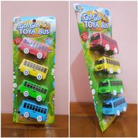 Mainan Mobil Bus Sekolah - Mainan Mobil Bus 4 in 1