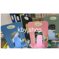 PEMBATAS BUKU BESI BESAR 17CM BOOKEND HOLDER BOOK END