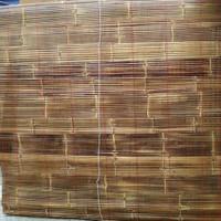 tirai bambu item sudah di vhernis untuk ukuran 2x3 m