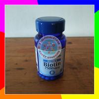 Biotin Puritans Pride 7500 mcg isi 50 tab