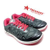 Sepatu Wanita TREKKERS Original - Sneakers Wanita Pink